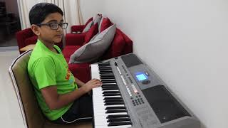 Odiyan Movie Song Kondoram Keyboard by Adithya Rajesh