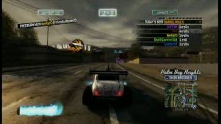 Ocean View Sign Sextuple Barrel roll (6x) Burnout Paradise