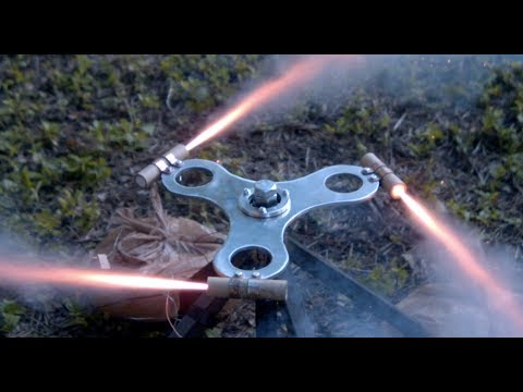 Rocket Powered Fidget Spinner