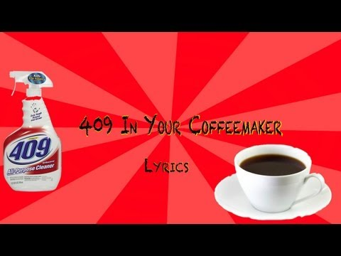 409 In Your Coffeemaker Lyrics  Green Day  in HD