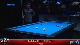 2018 US Open 8-Ball Championship: Chris Robinson vs Jeffrey De Luna