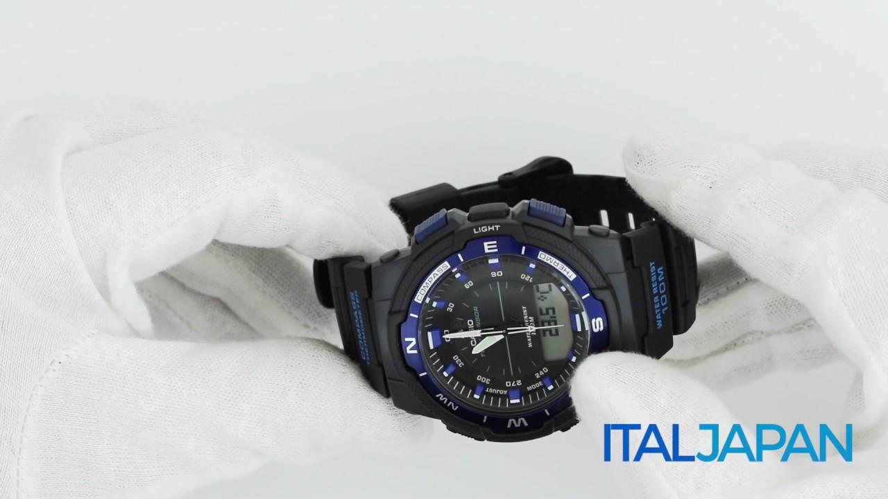 6ba40b981fee Orologio Casio Sports SGW-500H-2B - YouTube
