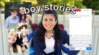 REALLY EMBARRASSING BOY STORIES