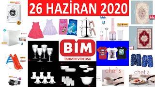BİM 26 HAZİRAN CUMA 2020 | TEK TEK NET