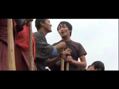 Bhutanese Movie Music Video from Hingsel song Om Saang La Mani