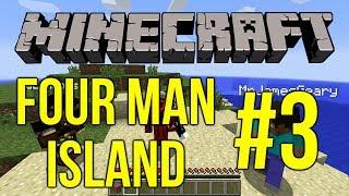 Minecraft: Four Man Island #3 - James' Secret Porno Box
