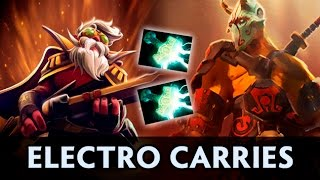 Electro carries — Virtus Pro vs Elements