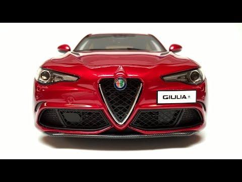 Model Car Alfa Romeo Giulia 1:18 Scale Otto Models