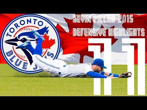 "Kevin Pillar ""Superman"" | Toronto Blue Jays | 2015 Defensive Highlights Mix ᴴᴰ"