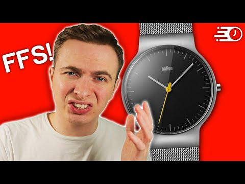 Braun Watches...Sort Your SH*T Out!