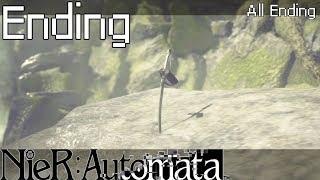 |-NieR:Automata-|-#Ending-|-Все концовки-|
