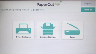 PaperCut MF for Toshiba Multifunction Devices Application Tour