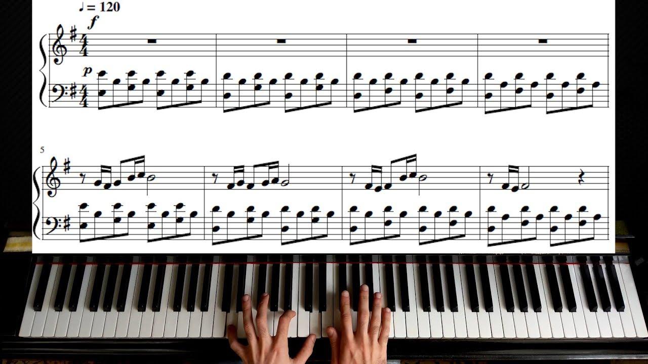 Amelie Comptine Dun Autre été Laprès Midi Yann Tiersen Long Version Piano Tutorial