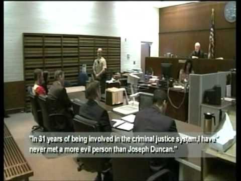 Two More Life Sentences for Serial Killer Joseph Duncan