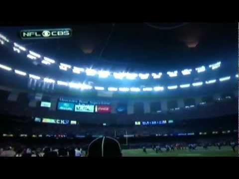 Super Bowl XLVII 2013 Power Outage LIVE