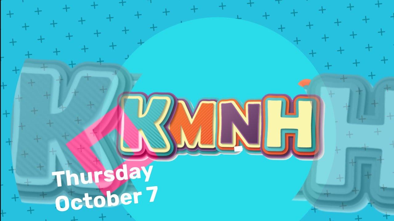 Copy of Kids Making the News Happen for Thursday, October 7
