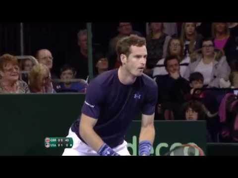 Highlights: Andy Murray (GBR) V Donald Young (USA)