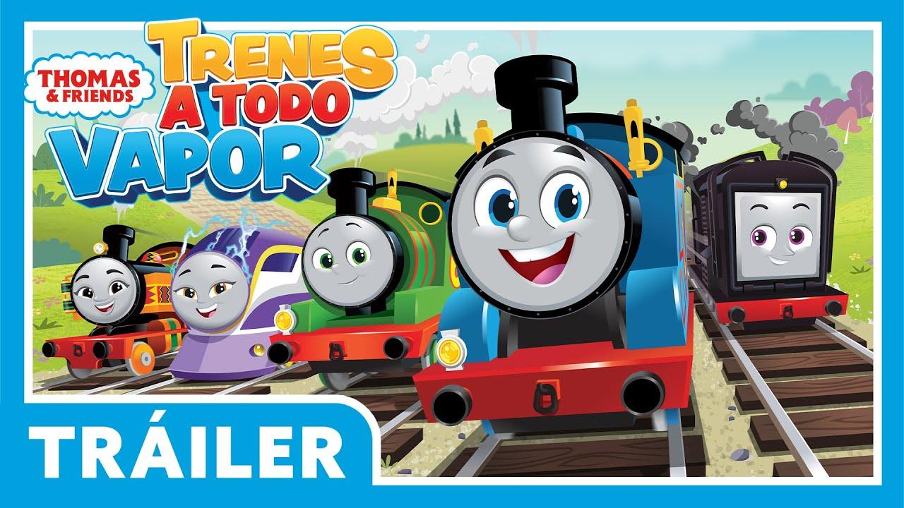 Thomas & Friends Latinoamérica | Trenes A Todo Vapor | Temporada 25 Tráiler | Thomas y Sus Amigos
