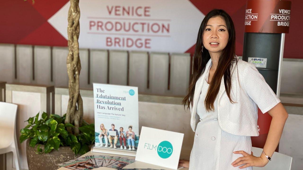 FilmDoo CEO Weerada @ Venice Film Festival | VOD Market Day 2020