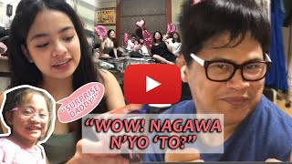 Father's day surprise kay Daddy (Ogie Diaz)