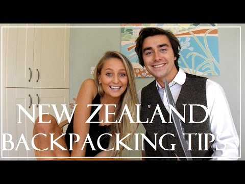 New Zealand - Backpacking Tips