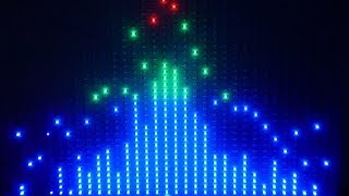 Giant LED Graphic Music Display (DJ Spectrum Analyser)
