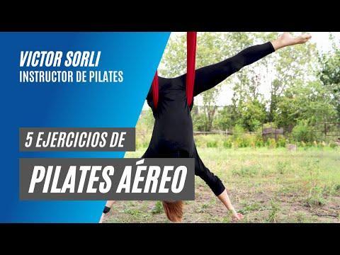5 Ejercicios de Pilates Aéreo