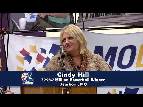 Cindy and Mark Hill - $293.7 Powerball Jackpot