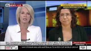 Amanda Rishworth: Sky News The Dalley Edition 8 Feb 2016