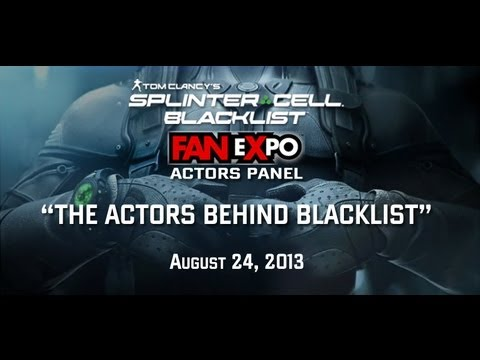 The Actors Behind Splinter Cell Blacklist
