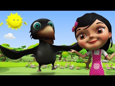 Ek Kauwa Pyasa Tha Nursery Rhymes in Hindi | एक कौवा प्यासा था | Kids Channel India | Hindi Rhyme