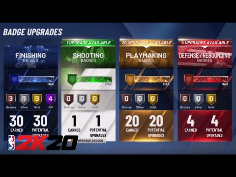 NBA 2K20 HOW TO CHANGE YOUR BADGES NBA 2K20 GET BADGES FAST AT TEAM PRACTICE HOW TO CHANGE BADGES!