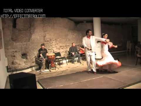 baile por alegrias, flamenco