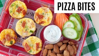 Healthy School Lunch Idea: Mini Pizza Quiches