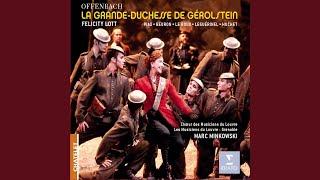 La Grande Duchess de Gerolstein, Acte III (Tableau 1) : No 17: Nocturne (Bonne niut