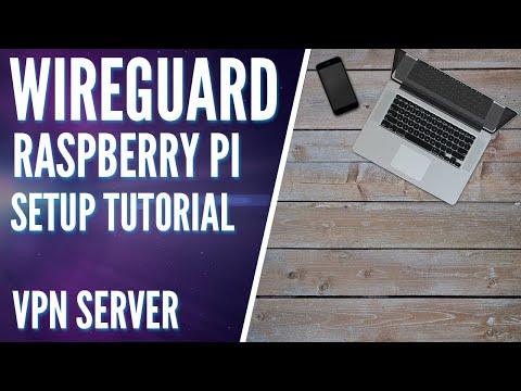 Setup WireGuard on a Raspberry Pi! VPN Setup Tutorial