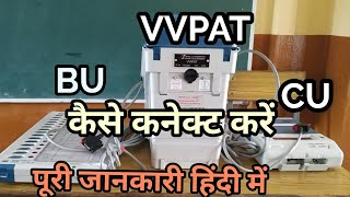 Connection evm vvpat
