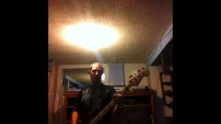 Rush- workin them angels bass cover