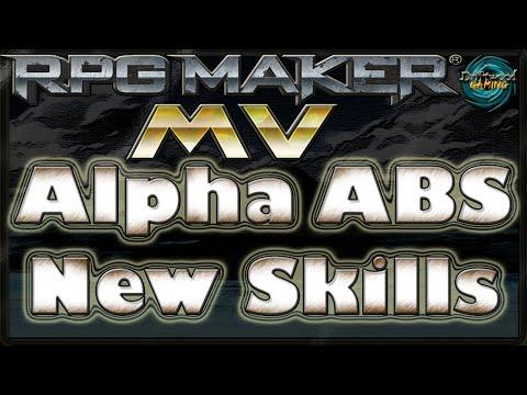 Alpha Abs Tutorial - New Skills - Rpg Maker Mv - YT