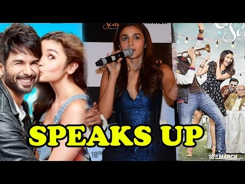 Alia Bhatt Speaks Up On Comparisons Of Kapoor And Sons With Shaandaar!