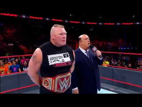 2017 Brock lesnar and brown stroman No Marcy full match