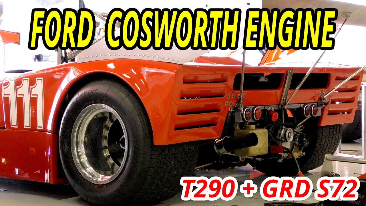 Ford Cosworth Sound Bda Fvc Cylinder Engine Sound Youtube
