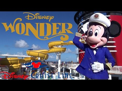 Disney Wonder Cruise Ship 2019 Tour & Review With The Legend