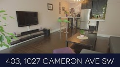 SOLD - 403, 1027 Cameron Avenue SW - Lower Mount Royal, Calgary