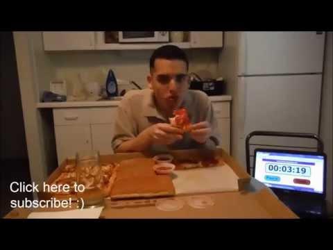 Pizza Huts Big Dinner Box Challenge 5000 Calories