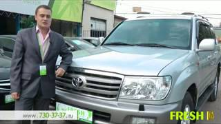 Тест драйв Toyota Land Cruiser 100