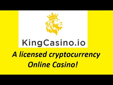 KingCasino Is A Licensed Cryptocurrency Online Casino!