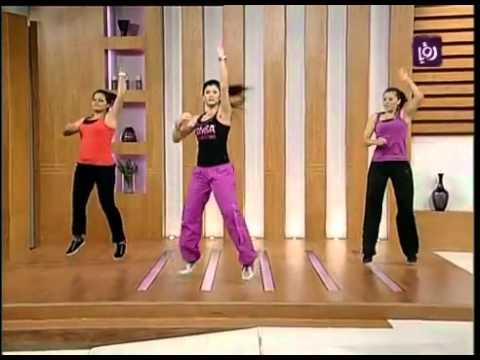 Zumba Dance in Jordan (Roya TV)