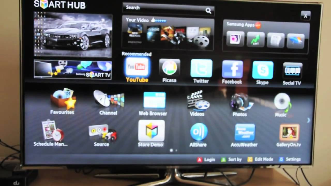 New Driver: Samsung UE40EH5300K SMART TV