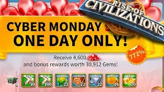 0 ed a player - Cyber Monday sales - tip's and advice's - Rise of Civilizations